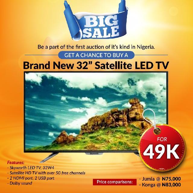 NaibacFeed: Enjoy savings of over 35% on New TVs